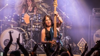 Photo of The Iron Maidens live im Colos-Saal Aschaffenburg