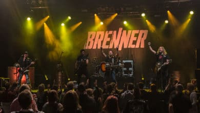 Photo of Berliner Rock-Band BRENNER in der Batschkapp Frankfurt