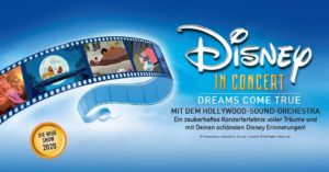 Disney In Concert - Dreams come true | Mit dem Hollywood-Sound-Orchestra @ SAP Arena | Mannheim | Baden-Württemberg | Deutschland