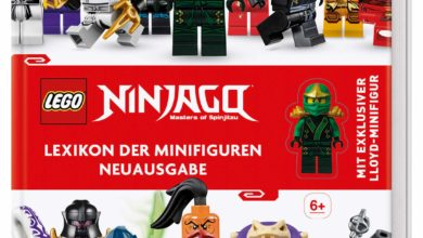 Photo of LEGO® NINJAGO® Lexikon der Minifiguren