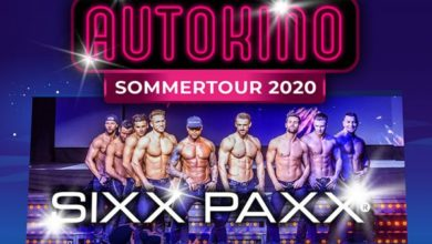 Photo of SIXX PAXX Autokino Tour 2020 – CARStival Mannheim