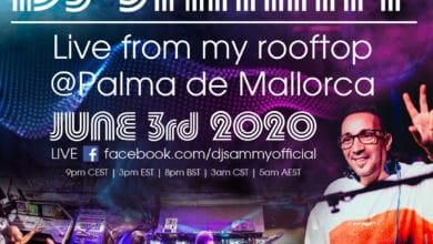 Photo of DJ Sammy Live from his Rooftop in Palma de Mallorca