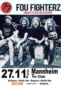 Fou Fighterz - Foo Fighters Tribute @ 7er Club Mannheim | Mannheim | Baden-Württemberg | Deutschland